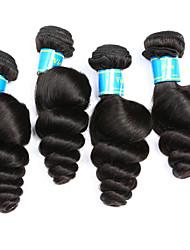 Malaysian Loose Wave Hair Weave 4 Bundles Virgin Human Hair Extensions Natural Human Hair Weave Vinsteen Curly Human Hair Bundles