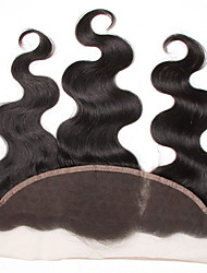 "Brazilian Lace Frontal Closure Loose Wave 13""×4"" Ear to Ear Full Lace Frontal Unprocessed Human Hair"