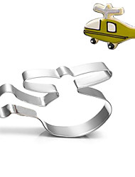 Helicopter Air Plane Cookies Cutter Stainless Steel Biscuit Cake Mold Metal Kitchen Fondant Baking Tools