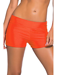 Women's Straped Bottoms High Rise Solid