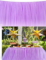 Birthday/Wedding Party To Table Tablecloth/Tutu/Tutu/Table skirt