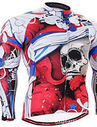 Homme Vélo Vêtements de Compression/Sous maillot Cyclisme Spandex Rayé Cyclisme/Vélo Couleur camouflage