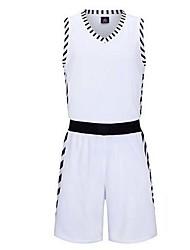 Homme Adolescent Sans Manches Basket-ball Hauts/Tops Ensemble de Vêtements Baggy
