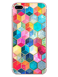 For Apple iPhone 7 7 Plus 6S 6 Plus Case Cover Three-Dimensional Pattern HD Painted TPU Material Soft Case Phone Case