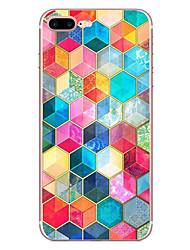 Pour Apple iphone 7 7 plus 6s 6 plus housse tridimensionnelle modèle hd peint matériel tpu étui souple boîtier de téléphone