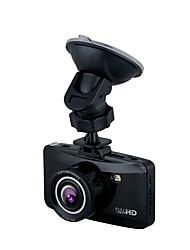 W100 HD 1280 x 720 1080p 140° Автомобильный видеорегистратор Generalplus1248 2,7 дюйма LCD КапюшонforУниверсальный Обноружение движения