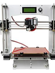Geeetech 3d impresora todo aluminio prua i3 tructure 3 d impresora kit filamento de 1,75 mm / 0.3mm boquilla