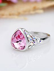 Women's Ring Jewelry Fashion Euramerican Crystal Alloy Jewelry Jewelry For Birthday Event/Party Other
