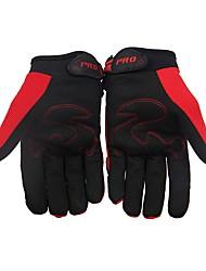Спортивные перчатки Универсальные Перчатки для велосипедистов Велоперчатки Износостойкий Защитный Полный палец Ткань Бархат Перчатки для