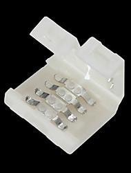 Connecteur sans soudure 5 pcs à 4 broches pour 10 mm 5050 rgb led strip lights