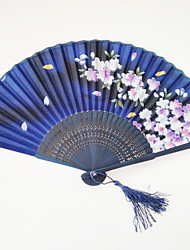 Falling Sakura Fan With Random Pattern 1 PCS Per Order