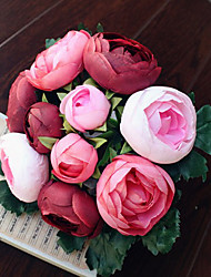 1  Bunch Tea Rose FlowerS Artificial Flowers