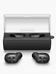Mini twins véritable écouteur sans fil bluetooth tws stéréo musique airpods style dans l'oreille casque fone de ouvido avec chargeur