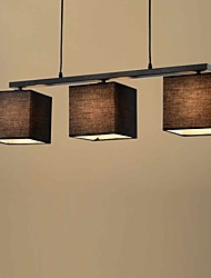 Pendant Light ,  Modern/Contemporary Country Painting Feature for Designers MetalLiving Room Bedroom Dining Room Study Room/Office
