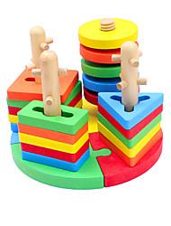 Конструкторы Игры с последовательностью Для получения подарка Конструкторы Хобби и досуг Дерево 2-4 года Игрушки