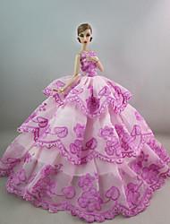 Вечеринка Платья Для Кукла Барби Для Девичий игрушки куклы