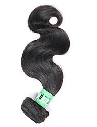 Cabelo Humano Ondulado Cabelo Malaio Onda de Corpo 18 Meses 1 Peça tece cabelo