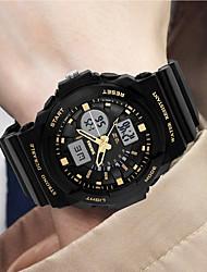 SKMEI  Watches Outdoor Sport Digital Watch 50M Waterproof LED Quartz Wristwatches Rubber Strap Military Male Clock Wristwatch