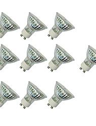 3W Spot LED MR16 60 SMD 3528 280-420 lm Blanc Chaud Blanc V 10 pièces
