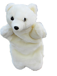 Stuffed Toys Dolls Finger Puppet Toys Bear Polar bear Animals Kid Pieces