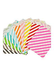 25pcs/lot Color Kraft Paper Bag Size 5*7 Inch Boutique Paper Gift Bag Food Shopping Bag Mix flower