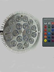 12W LED лампа для теплиц 18 Высокомощный LED 900 lm RGB AC 85-265 V 1 шт.