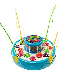 Brinquedos de pesca para presente Blocos de Construir Plásticos 1-3 anos 3-6 anos de idade Brinquedos