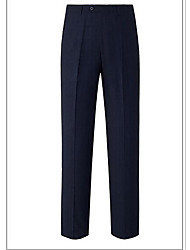 Men's Low Rise strenchy Business Pants,Boho Bootcut Solid