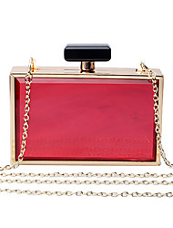 L.west Women Elegant High-grade Acrylic Perfume Bottles Evening Bag