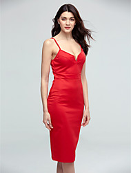Women's Sexy Bodycon Casual Party Work Straps Halter Slim Dress