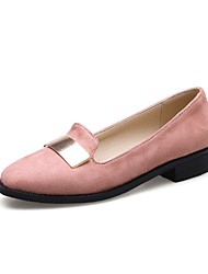 Women's Loafers & Slip-Ons Gladiator Basic Pump Formal Shoes Comfort Ballerina Novelty Light Soles Nubuck leather Customized Materials