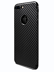 For iPhone 8 iPhone 8 Plus Case Cover Frosted Back Cover Case Lines / Waves Hard TPU for Apple iPhone 8 Plus iPhone 8 iPhone 7 Plus