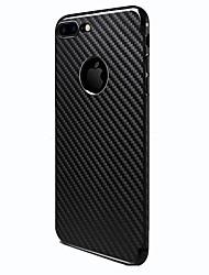 Назначение iPhone 8 iPhone 8 Plus Чехлы панели Матовое Задняя крышка Кейс для Полосы / волосы Твердый Термопластик для Apple iPhone 8