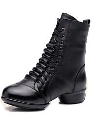 Maßfertigung Damen Modern Nappaleder Stiefel Sneakers Im Freien Flacher Absatz Weiß Schwarz Rot 5 - 6,8 cm