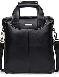 Genuine Leather Men's Shoulder Bag High Quality Cowhide Men's Business Briefcase Soft Handbags D8179-3