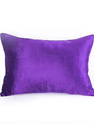 Velvet Polyester Pillow Case Pillow Cover-violet