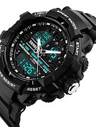 Reloj Smart Resistente al Agua Múltiples Funciones Reloj Cronómetro Despertador Cronógrafo Calendario Tres Husos Horarios OtherNo hay