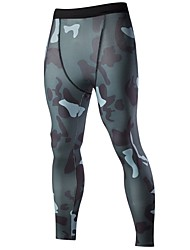 Cycling Tights Men's Bike Bottoms Breathable Comfortable Sports Cycling/Bike Summer Dark Grey Light Grey Green