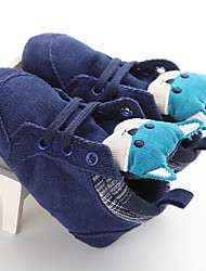 Kids' Flats Spring Fall First Walkers Fabric Casual Flat Heel Animal Print