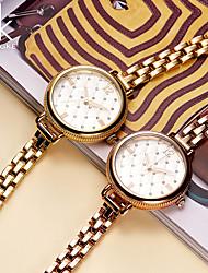 SK Mulheres Relógio de Moda Bracele Relógio Chinês Quartzo Impermeável Resistente ao Choque Metal BandaVintage Riscas Pendente Luxuoso