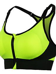 Mujer Sujetadores de Deporte Anti-Shake Sujetadores de Deporte para Yoga Ejercicio y Fitness Deportes recreativos Running Elastán Terileno