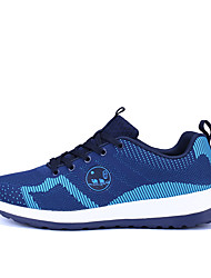 City Camel Mesh Shoes 2017 Summer Men Low Breathable Mesh Hiking Shoes Wear-resistant Sneaker Blue