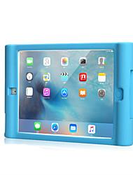 Для apple ipad воздух 2 чехол чехол ударопрочный корпус корпус сплошной цвет мягкий силикон