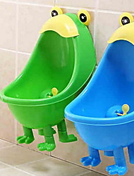 Cute Kids PP Men Toilet Children Bath Caddies