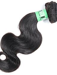 Cabelo Humano Ondulado Cabelo Peruviano Onda de Corpo 18 Meses 1 Peça tece cabelo