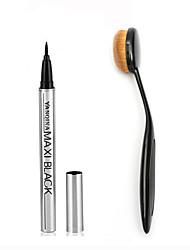 Lápis de OlhoPincéis de Maquiagem Secos Peles com Manchas