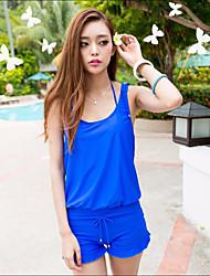 Women's Bikini Nylon Solid