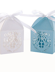 50 Stück / Set Geschenke Halter-Quader Perlenpapier Geschenkboxen