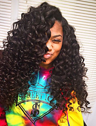 8A Quality Loose Wave Wig 180% Hair Density Human Hair Wigs  Glueless Lace Front Wigs With Baby Hair For Black Women