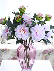 1 Branch Colorful Peony Flowersr Artificial Flowers